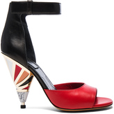 Givenchy Leather Multicolor Heels
