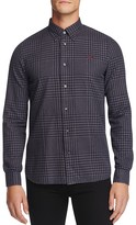 Fred Perry Gingham Slim Fit Button Down Shirt