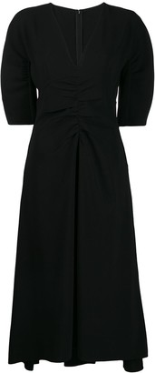 No.21 ruched dress