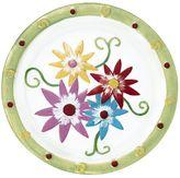 Pfaltzgraff Flower Glass Platter