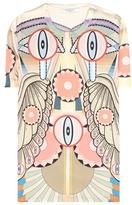 Givenchy Printed silk T-shirt
