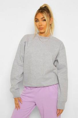 boohoo Angel Slogan Back Print Sweatshirt