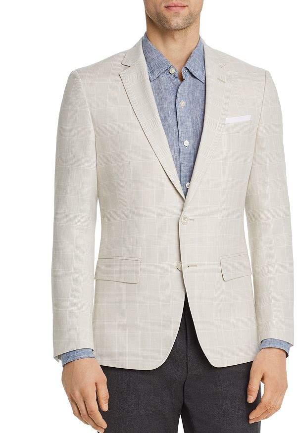 BOSS Hutsons Glen Plaid Slim Fit Sport Coat