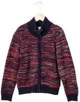 Little Marc Jacobs Boys' Tweed Zip-Up Sweater