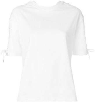 McQ lace-up detail T-shirt