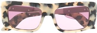 Marni Eyewear Leopard Sunglasses