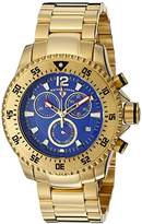 "Swiss Legend Men's 10063-YG-33 ""Sergeant"" Gold Ion-Plated Watch"
