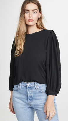 The Great The Pleat Sleeve Tee