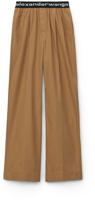 Alexander Wang Pull-On Pleated Pant