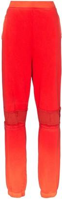 Ambush bleach-patchwork track pants