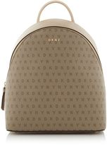 DKNY Coated Logo Medium Backpack