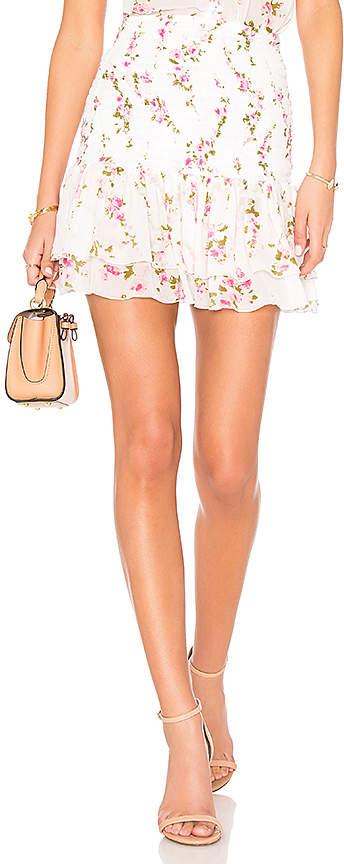 Karina Grimaldi Elani Mini Skirt