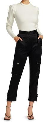 JONATHAN SIMKHAI STANDARD Puff-Sleeve Knit Top