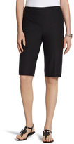 Chico's Brigitte Shorts in Black -11 Inch Inseam