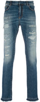 Faith Connexion distressed slim-fit jeans - men - Cotton/Spandex/Elastane - 31