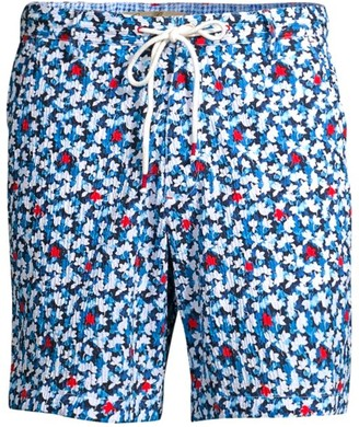Robert Graham Floral Swim Trunks