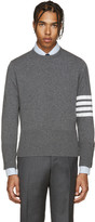 Thom Browne Grey Cashmere Pullover