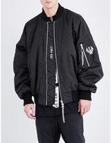 Ueg Dissenter cotton-blend bomber jacket