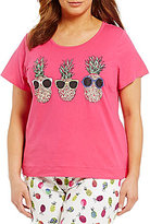 Sleep Sense Plus Cool Pineapples Jersey Sleep Top