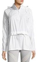 Puma Half-Zip T7 Wind-Resistant Jacket, White