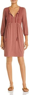 Daniel Rainn Embroidered Dress