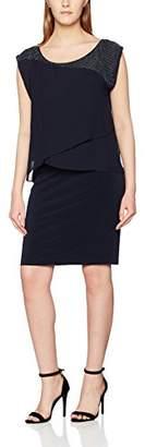 Vera Mont Women's 2140/5000 Knee-Length Cocktail Short Sleeve Dress,(Manufacturer Size: 36)