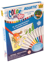 Color and Go Aquatic Coloring Book Set