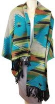 Simplicity Women Cape Shawl Wrap Cape with Fringed Edges