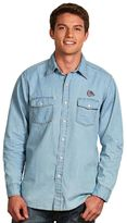 Antigua Men's Gonzaga Bulldogs Chambray Button-Down Shirt