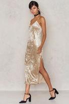 Thin Strap Velvet Dress