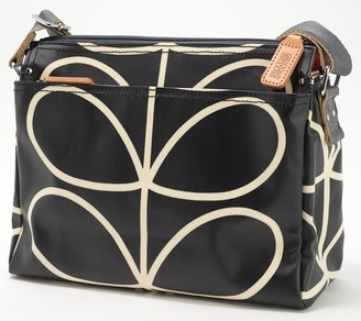 Orla Kiely Printed Coated Canvas Crossbody - Fielder