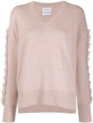 Barrie Embroidered Cashmere Jumper