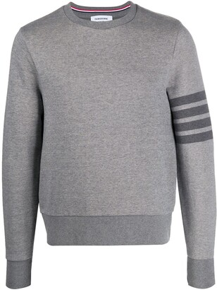 Thom Browne Crew Neck Cotton Sweatshirt
