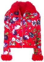 Kenzo floral quilted jacket