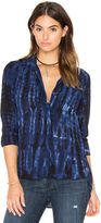 Bella Dahl Tie Dye Pocket Button Down