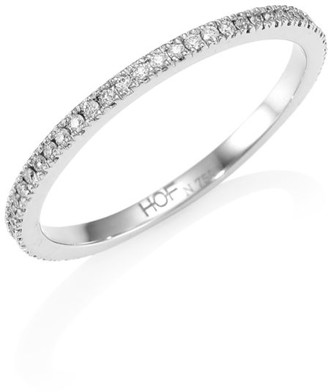 Hearts On Fire HOF Classic 18K White Gold & Diamond Prong-Set Ring