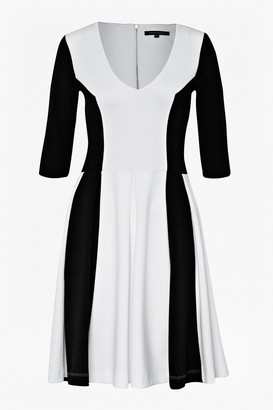 French Connection Abney Jersey Flared Dress