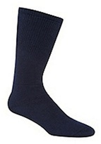 H.j.hall Navy 'comfort Fit Diabetic' Socks