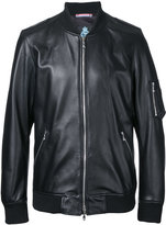 GUILD PRIME zip up jacket - men - Lamb Skin - 1