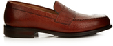 Cheaney Howard R pebbled-leather loafers