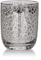 Kim Seybert Crackle Platinum-Embellished Double Old-Fashioned Tumblers Set