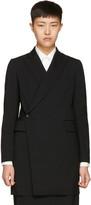 Y's Black K-Long Coat