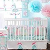 My Baby Sam Aqua Pixie Baby 3pc Crib Set