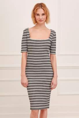 Great Plains Alexandra Rib Jersey Dress
