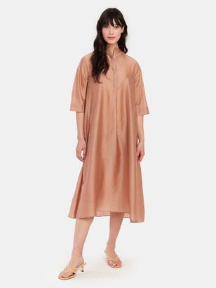 Studio D'Aari High Neck Midi Tent Dress