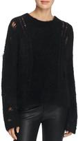 360 Sweater Orena Distressed Cashmere Sweater