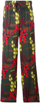 P.A.R.O.S.H. printed palazzo pants - women - Silk/Spandex/Elastane - M