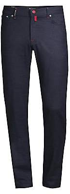Kiton Men's Straight-Fit Casual Pants