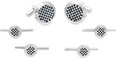 Cufflinks Inc. Men's Checker Stud Set