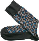 Johnston & Murphy Rotating Triangle Socks